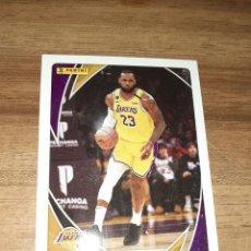 Coleccionismo deportivo: CARD BALONCESTO NBA, TEMPORADA 2020/21, EDITORIAL PANINI, LEBRON JAMES, Nº 1. Lote 278532268