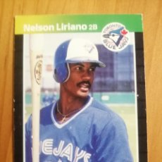 Coleccionismo deportivo: CROMO - NÚMERO 627 - MLB - LIGA MAYOR DE BEISBOL - DONRUSS, AÑO 1989 - NELSON LIRIANO. Lote 278635943