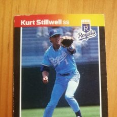 Coleccionismo deportivo: CROMO - NÚMERO 322 - MLB - LIGA MAYOR DE BEISBOL - DONRUSS, AÑO 1989 - KURT STILLWELL. Lote 278636273