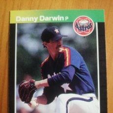 Coleccionismo deportivo: CROMO - NÚMERO 390 - MLB - LIGA MAYOR DE BEISBOL - DONRUSS, AÑO 1989 - DANNY DARWIN. Lote 278637213