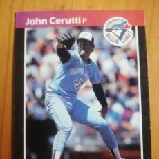 Coleccionismo deportivo: CROMO - NÚMERO 467 - MLB - LIGA MAYOR DE BEISBOL - DONRUSS, AÑO 1989 - JOHN CERUTTI. Lote 278637478