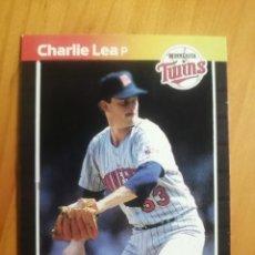 Coleccionismo deportivo: CROMO - NÚMERO 473 - MLB - LIGA MAYOR DE BEISBOL - DONRUSS, AÑO 1989 - CHARLIE LEA. Lote 278637533