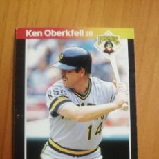 Coleccionismo deportivo: CROMO - NÚMERO 506 - MLB - LIGA MAYOR DE BEISBOL - DONRUSS, AÑO 1989 - KEN OBERKFELL. Lote 278637728