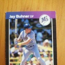 Coleccionismo deportivo: CROMO - NÚMERO 581 - MLB - LIGA MAYOR DE BEISBOL - DONRUSS, AÑO 1989 - JAY BUHNER. Lote 278638248