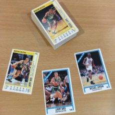 Coleccionismo deportivo: LOTE DE 78 CARDS DOBLES - LARRY BIRD Y UN TAL MICHAEL JORDAN. ÁLBUM BASKETBALL NBA 1991/92 DE PANINI. Lote 278942223