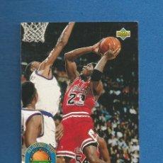 Coleccionismo deportivo: CROMO BALONCESTO SUPER DECK 92-93 Nº43 MICHAEL JORDAN. Lote 279348038