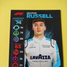 Coleccionismo deportivo: 65 - RUSSELL - WILLIAMS RACING - TOPPS FORMULA 1 2020. Lote 279365138