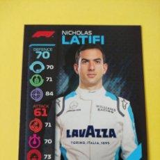 Coleccionismo deportivo: 66 - LATIFI - WILLIAMS RACING - TOPPS FORMULA 1 2020. Lote 279365353