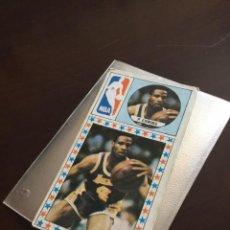 Coleccionismo deportivo: CROMO P.ERWING NBA. NUNCA PEGADO LIGA BALONCESTO 1986 1987 MERCHANTE CONVERSE.. Lote 282188163