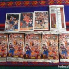 Coleccionismo deportivo: LOTE 6 SOBRE LLENO COLECCIÓN OFICIAL ACB 09 10 TRADING CARDS. PANINI REGALO 3 CARD UPPER DECK 92 93.. Lote 283454728