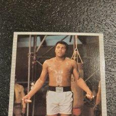 Coleccionismo deportivo: MUHAMMAD ALI, CASSIUS CLAY. N° 44 ALI BONUS CARD #1. BOXING HALL OF FAME 1991. Lote 285812588