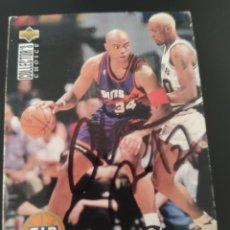 Coleccionismo deportivo: 1 EURO PRECIO DE SALIDA, CROMO FIRMADO DE CHARLES BARKLEY CON AUTÓGRAFO, NBA, PHOENIX SUNS. Lote 286786203