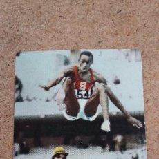 Coleccionismo deportivo: HISTORIA JUEGOS OLIMPICOS MÉXICO 86 CHOCOLATES SULTANA - 69 BOB BEAMON (NUNCA PEGADO) 44. Lote 287150473