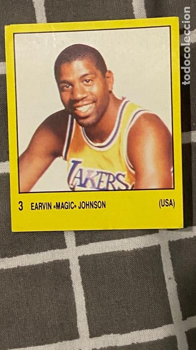 1988 MAGIC JOHNSON # 3 PANINI SUPERSPORT (Coleccionismo Deportivo - Cromos otros Deportes)