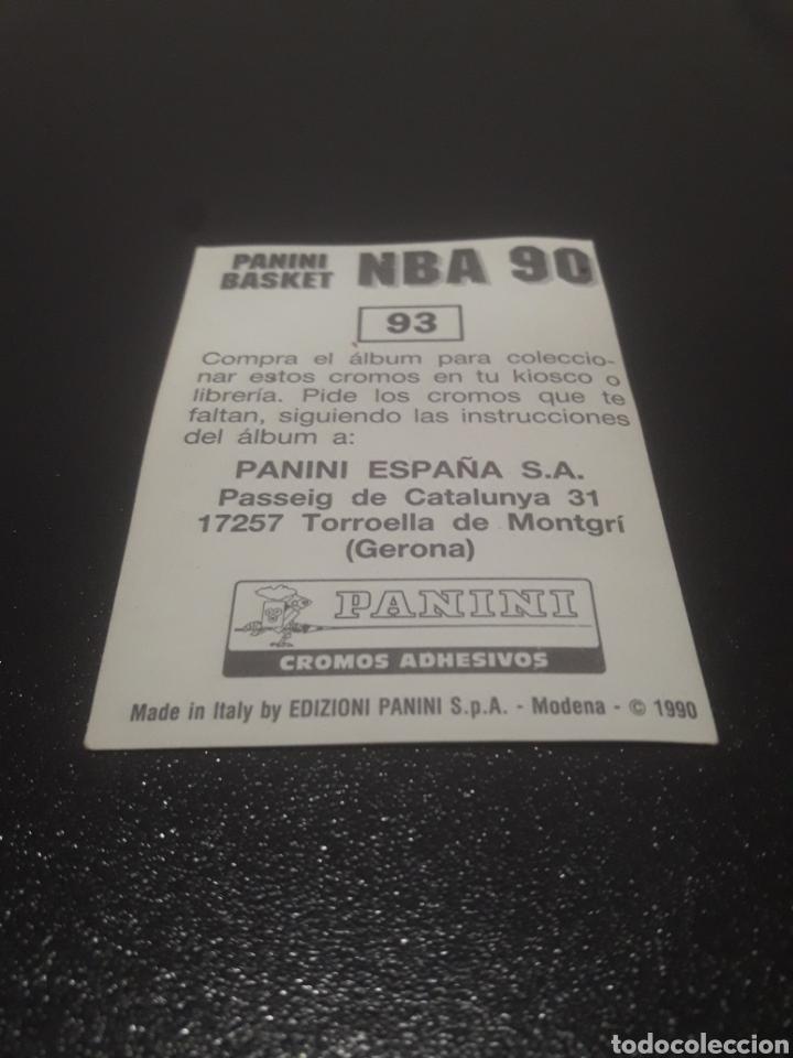 Coleccionismo deportivo: VERN FLEMING N° 93. PANINI NBA 90 SIN PEGAR. - Foto 2 - 288001978
