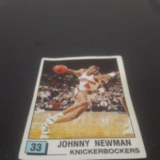 Coleccionismo deportivo: JOHNNY NEWMAN N° 33. PANINI NBA 90 SIN PEGAR.. Lote 288002748