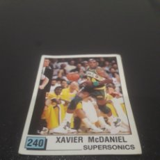 Coleccionismo deportivo: XAVIER MCDANIEL N° 240. PANINI NBA 90 SIN PEGAR.. Lote 288006698