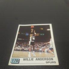 Coleccionismo deportivo: WILLIE ANDERSON N° 170. PANINI NBA 90 SIN PEGAR.. Lote 288007778