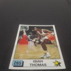 Coleccionismo deportivo: ISIAH THOMAS N° 265. PANINI NBA 90 SIN PEGAR.. Lote 288007948