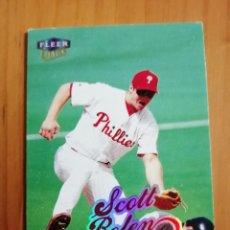 Coleccionismo deportivo: CROMO - NÚMERO 200 - BEISBOL - MLBPA - AÑO 1999 FLEER - SCOTT ROLEN. Lote 288082253