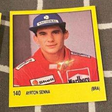 Coleccionismo deportivo: SUPERSPORT 1988 - PANINI - 140 AYRTON SENNA - AUTOMOVILISMO - BRASIL - ( NUNCA PEGADO ). Lote 288103768