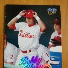 Coleccionismo deportivo: CROMO - NÚMERO 110 - BEISBOL - MLBPA - AÑO 1999 FLEER ULTRA - BOBBY ABREU. Lote 288296763