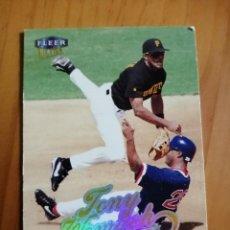 Coleccionismo deportivo: CROMO - NÚMERO 111 - BEISBOL - MLBPA - AÑO 1999 FLEER ULTRA - TONY WOMACH. Lote 288296858