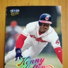 Coleccionismo deportivo: CROMO - NÚMERO 113 - BEISBOL - MLBPA - AÑO 1999 FLEER ULTRA - KENNY LOFTON. Lote 288296988