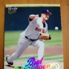 Coleccionismo deportivo: CROMO - NÚMERO 135 - BEISBOL - MLBPA - AÑO 1999 FLEER ULTRA - BRET SABERHAGEN. Lote 288297168