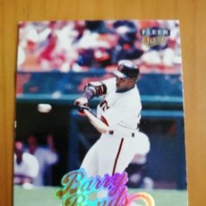 Coleccionismo deportivo: CROMO - NÚMERO 139 - BEISBOL - MLBPA - AÑO 1999 FLEER ULTRA - BARRY BONDS. Lote 288297363