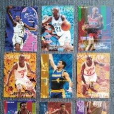 Coleccionismo deportivo: LOTE DE 9 CROMOS DE BASKET. NBA FLEER 95-96 IMPRESOS EN U. S. A. Lote 288303103