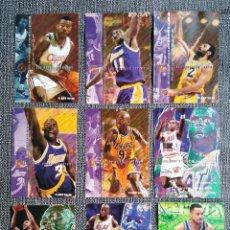 Coleccionismo deportivo: LOTE DE 9 CROMOS DE BASKET. NBA FLEER 95-96 IMPRESOS EN U. S. A. Lote 288303548