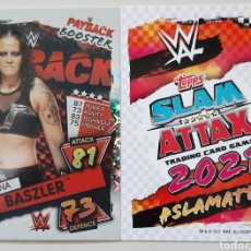 Coleccionismo deportivo: TOPPS SLAM ATTAX 2021. N° 332 SHAYNA BASZLER.. Lote 288643008