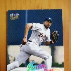 Coleccionismo deportivo: CROMO NÚMERO 164 - BEISBOL - MLBPA - AÑO 1999 FLEER ULTRA - JUAN ENCARNACION. Lote 288703948
