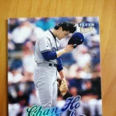 Coleccionismo deportivo: CROMO NÚMERO 165 - BEISBOL - MLBPA - AÑO 1999 FLEER ULTRA - CHAN HO PARK. Lote 288704463