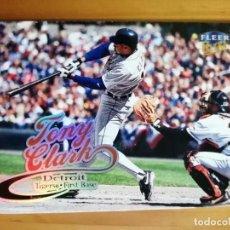 Coleccionismo deportivo: CROMO NÚMERO 185 - BEISBOL - MLBPA - AÑO 1999 FLEER ULTRA - TONY CLARK. Lote 288709218