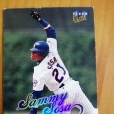 Coleccionismo deportivo: CROMO NÚMERO 192 - BEISBOL - MLBPA - AÑO 1999 FLEER ULTRA - SAMMY SOSA. Lote 288710408