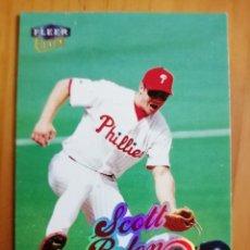 Coleccionismo deportivo: CROMO NÚMERO 200 - BEISBOL - MLBPA - AÑO 1999 FLEER ULTRA - SCOTT ROLEN. Lote 288710748