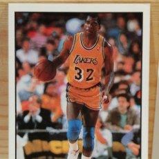 Coleccionismo deportivo: CROMO MAGIC JOHNSON COLECCION NBA 91. Lote 289004978