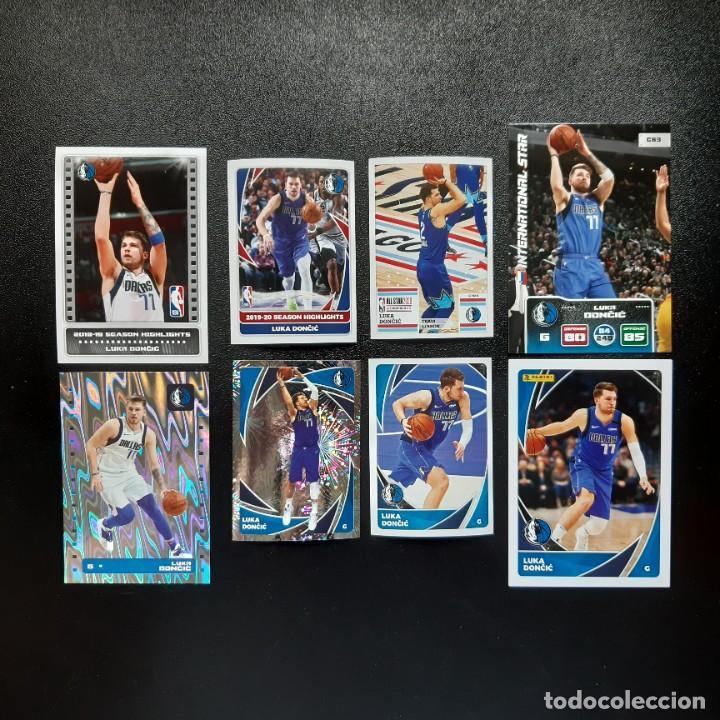 LOTE 8 CROMOS LUKA DONCIC - NBA DALLAS MAVERICKS / PANINI (Coleccionismo Deportivo - Cromos otros Deportes)