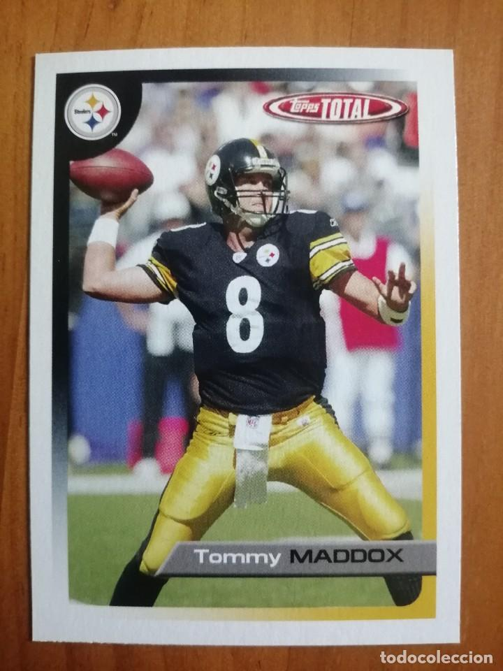 CROMO NÚMERO 215- RUGBY - NFL - 2005 TOPPS TOTAL - TOMMY MADDOX (Coleccionismo Deportivo - Cromos otros Deportes)