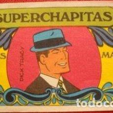 Coleccionismo deportivo: FIGURITAS MANGOS SUPER CHAPITAS DICK TRACY ANO 1972. Lote 292481858