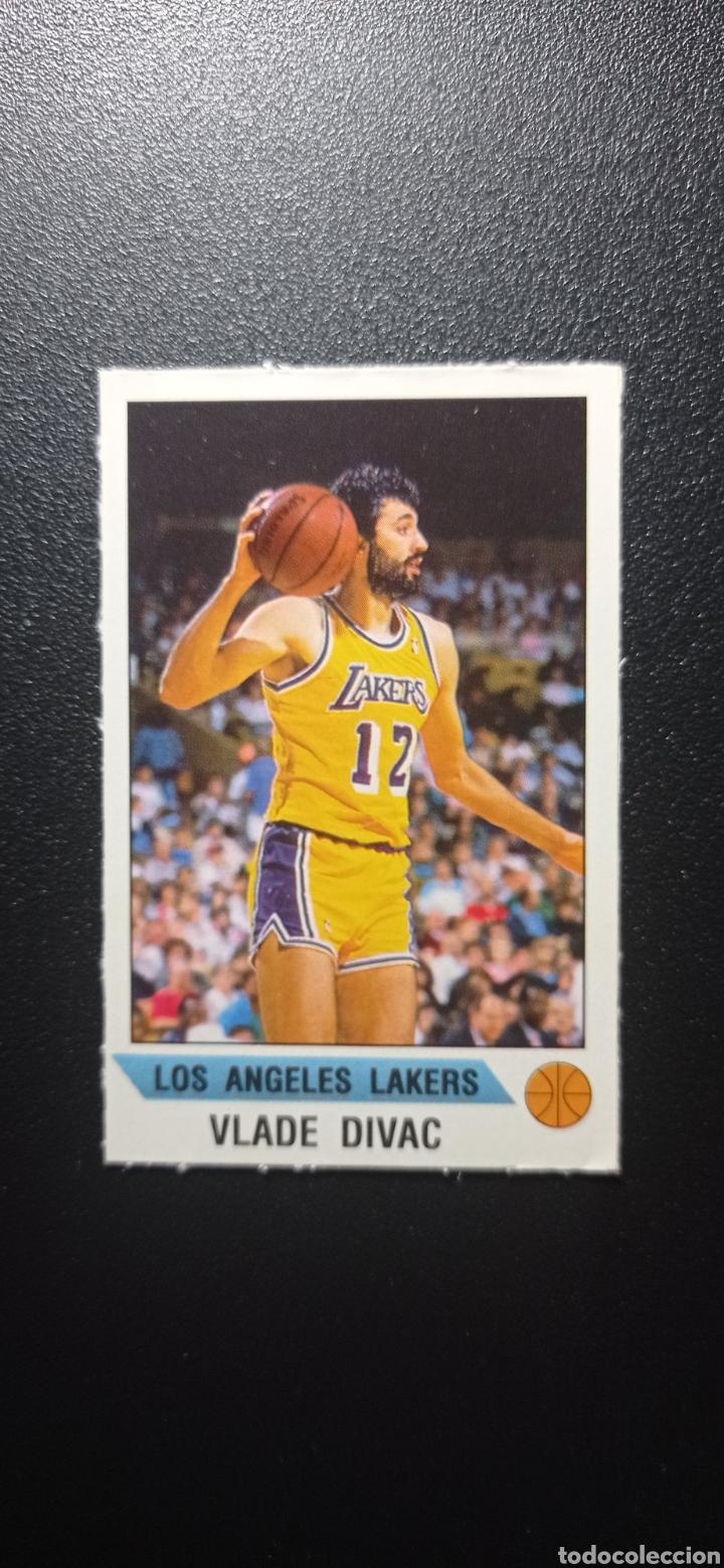 ROOKIE VLADE DIVAC LOS ANGELES LAKERS CROMO NUEVO STICKER NBA BALONCESTO BASKET 1990 1991 (Coleccionismo Deportivo - Cromos otros Deportes)
