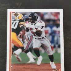 Coleccionismo deportivo: UPPER DECK FOOTBALL 1991 TEAM MVP #451 ANDRE RISON ATLANTA FALCONS NFL CARD. Lote 294376653
