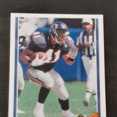 Coleccionismo deportivo: UPPER DECK FOOTBALL 1991 ROOKIE FORCE #638 ERRIC PEGRAM ATLANTA FALCONS NFL CARD. Lote 294376868