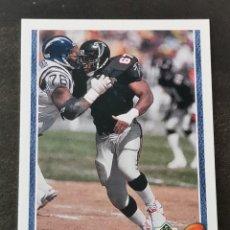 Coleccionismo deportivo: UPPER DECK FOOTBALL 1991 ROOKIE FORCE #633 MOE GARDNER ATLANTA FALCONS NFL CARD. Lote 294377033