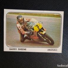 Coleccionismo deportivo: BARRY SHEENE MOTO SPORT PANINI CROMO MOTOCICLISMO - SIN PEGAR - 134. Lote 295536513