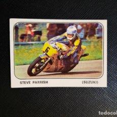 Coleccionismo deportivo: STEVE PARRISH MOTO SPORT PANINI CROMO MOTOCICLISMO - SIN PEGAR - 136. Lote 295536743
