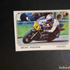 Coleccionismo deportivo: MICHEL ROUGERIE MOTO SPORT PANINI CROMO MOTOCICLISMO - SIN PEGAR - 137 B. Lote 295536823