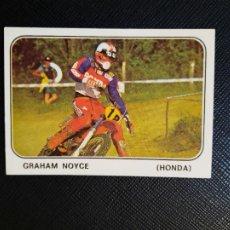 Coleccionismo deportivo: GRAHAM NOYCE MOTO SPORT PANINI CROMO MOTOCICLISMO - SIN PEGAR - 212 B. Lote 295623823